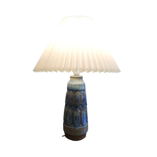 Vintage Mid-Century Danish Pottery Lamp Michael Anderson and sons