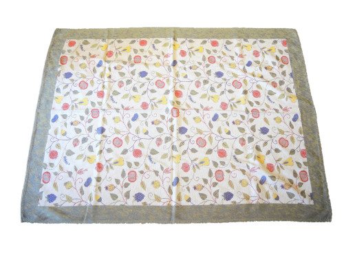 Vintage Swedish Ekelund Weavers Summer Fruits Table Cloth 170cm x 125cm.