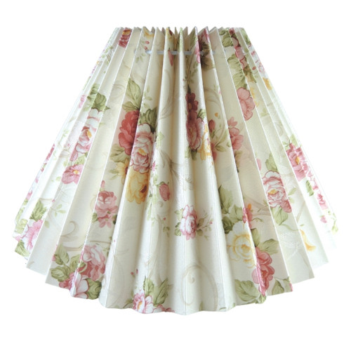 21cm New Floral Pleated Danish Type Shade