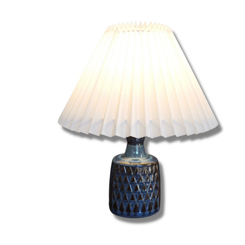 Vintage Danish Mid Century Modern Soholm Einar Johansen Blue Series Lamp