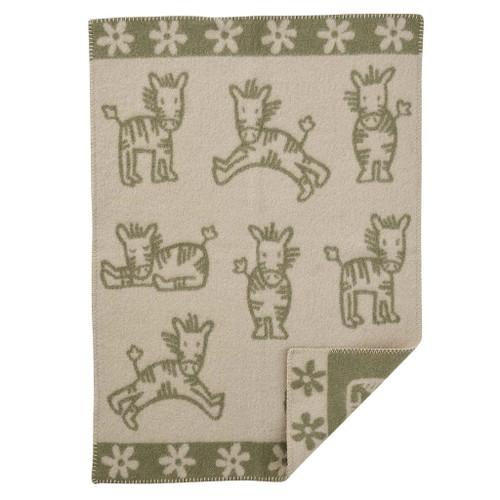 Brand New Klippan Eco Lambs Wool Baby Blanket Whinny