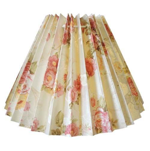 17cm New Floral Pleated Danish Type Shade