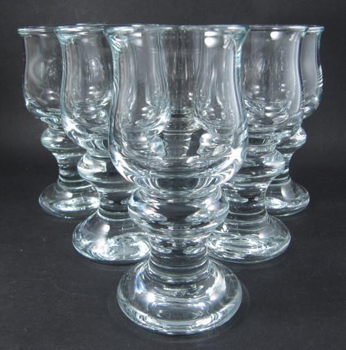 6 Vintage Holmegaard Tivoli Liqueur or Schnapps glasses Per Lutkin 1968