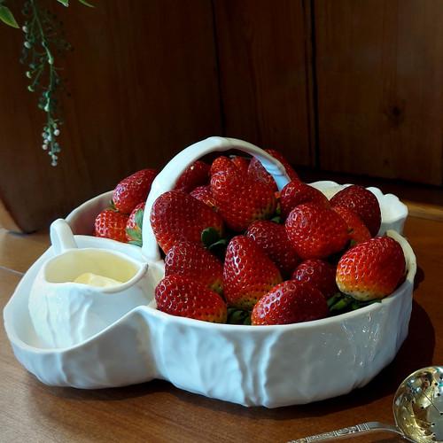 Wedgwood Countryware Strawberry Basket