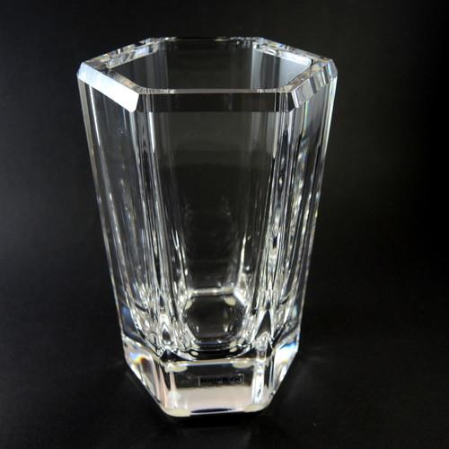 Vintage Heavy Bengt Endenfalk for Kosta Boda Colonna Art Glass Vase