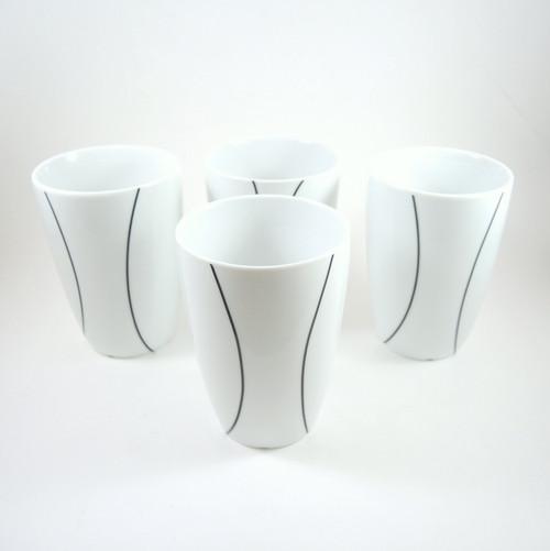 4 x Danish Vea Pernille Designer for Menu Thermo Coffee Mugs