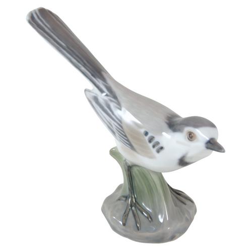 Vintage Bing & Grondahl Wagtail Bird Figurine Dahl Jensen