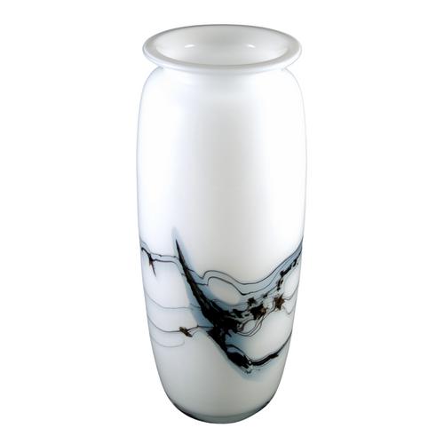 19cm Vintage Holmegaard Atlantis Art Glass Vase Michael Bang 1980