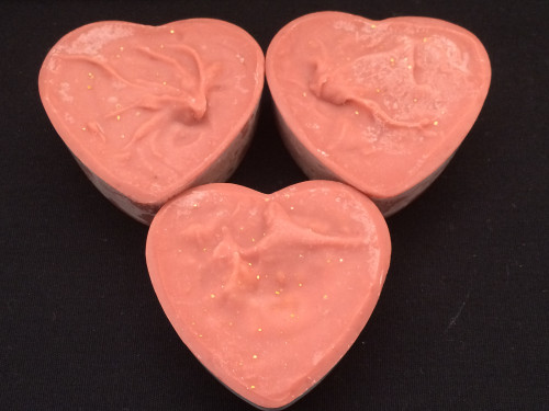 Rose Citrus - Valentine Heart Artisan Soap Bar
