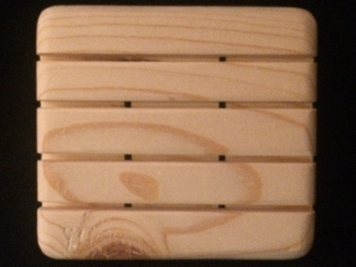 Handcrafted Wooden Soap Holder by Soladera Soaps