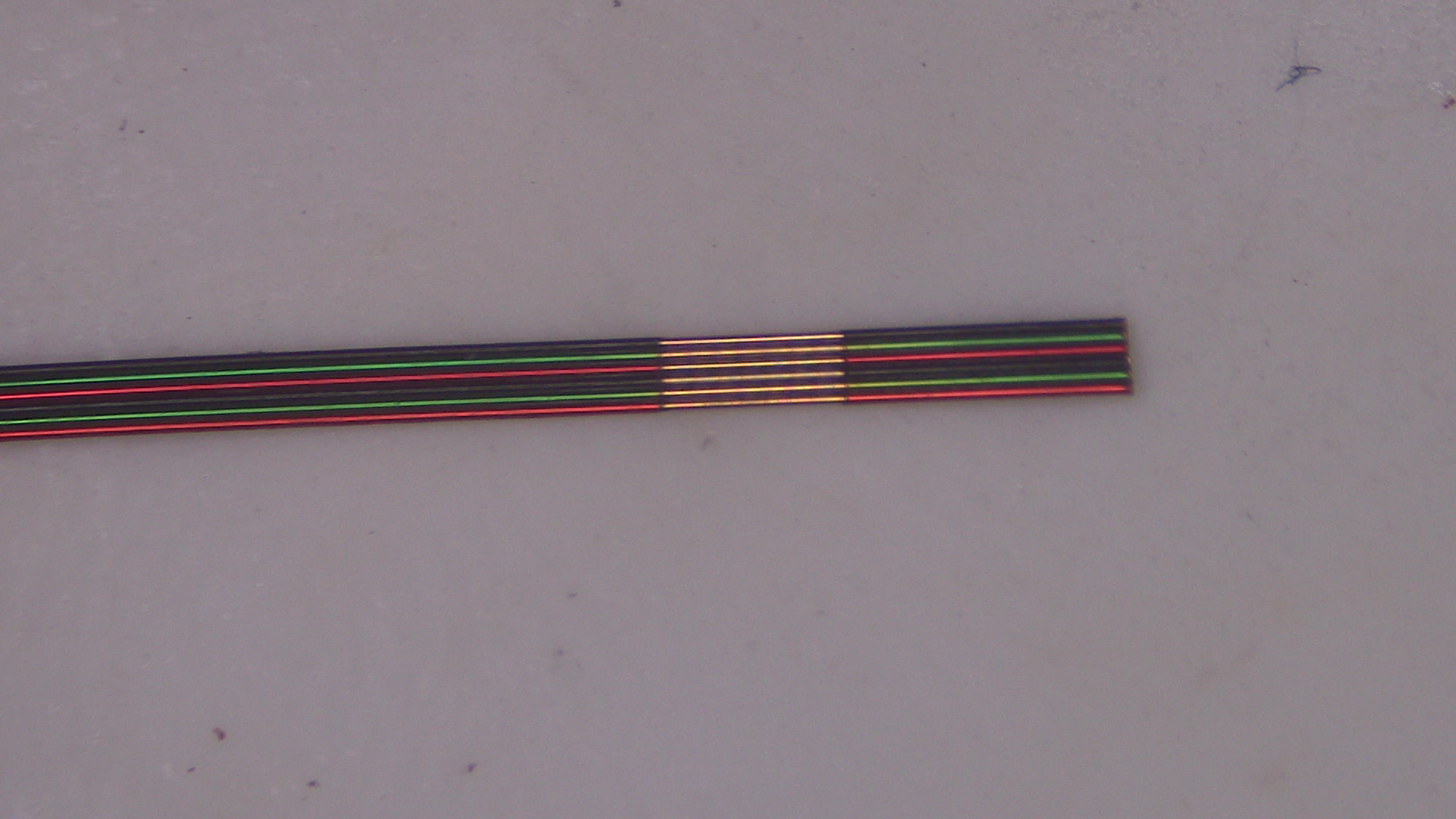 Ultrafine 36 gauge ribbon cable