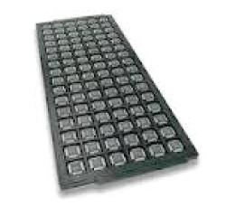 Another packaging option is a matrix tray