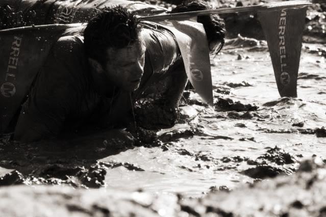 Mud Run at Night