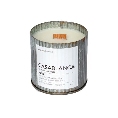 Casablanca Rustic Vintage Candle