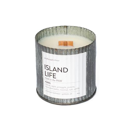 Island Life Rustic Vintage Candle