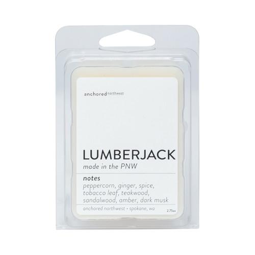 Lumberjack Soy Wax Melt Anchored Northwest