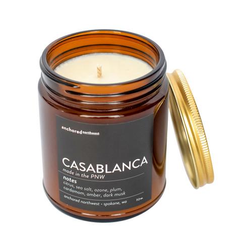 Casablanca Amber Tumbler Candle