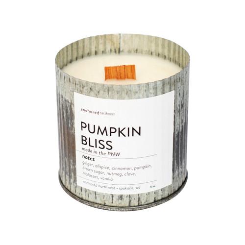 Pumpkin Bliss Rustic Vintage Candle