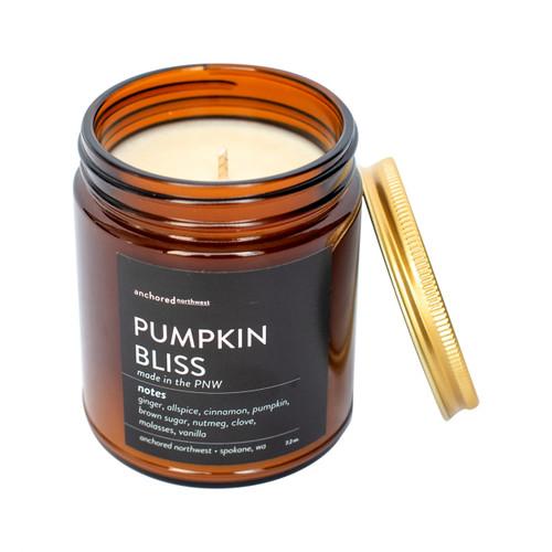Pumpkin Bliss Amber Tumbler Candle