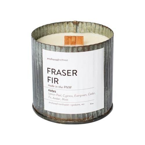 Fraser Fir Rustic Vintage Candle