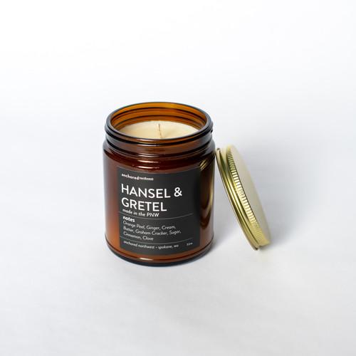 Hansel & Gretel - Amber Tumbler with Cotton Wick
