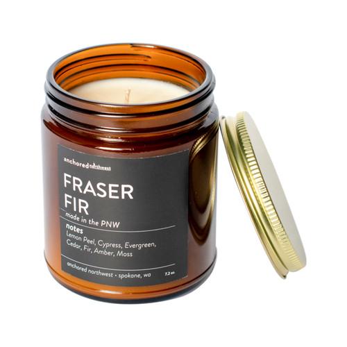Fraser Fir Amber Tumbler Candle