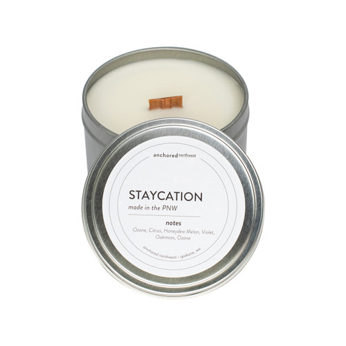 Staycation Silver Travel Tin