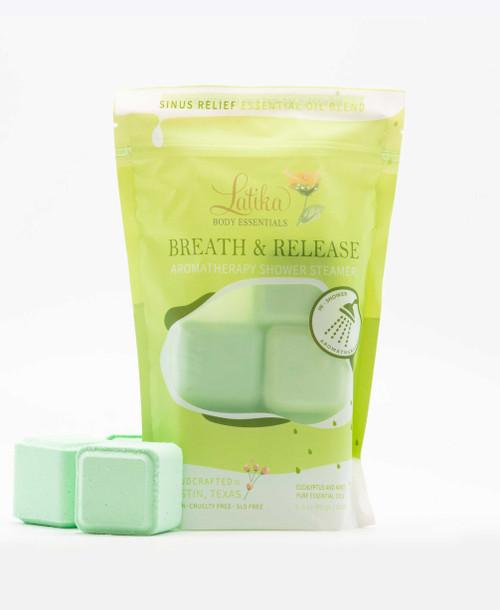 Breathe & Release – Aromatherapy Shower Steamer Bag