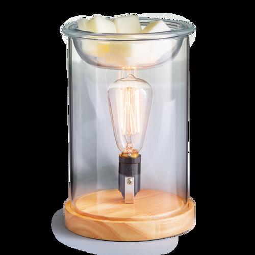 Wood & Glass Vintage Illumination Fragrance Warmer