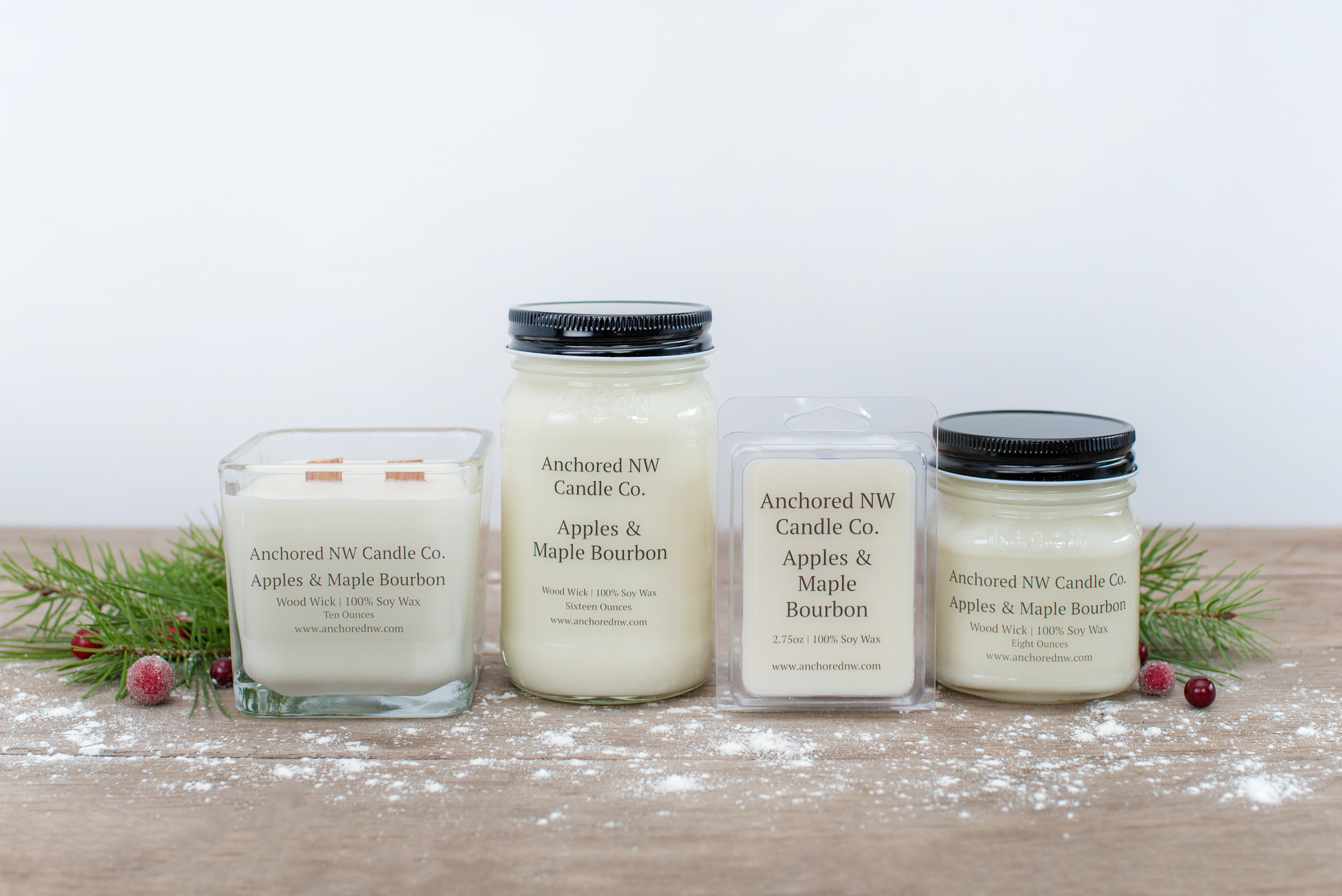Anchored NW Candle Co  | Wood Wick Candles | Pacific Northwest