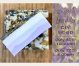 sweet, lavender, soap, class, diy