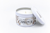 cinnamon soy candle handcrafted natural