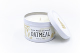 oatmeal soy candle