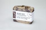 walnut spice bar soap