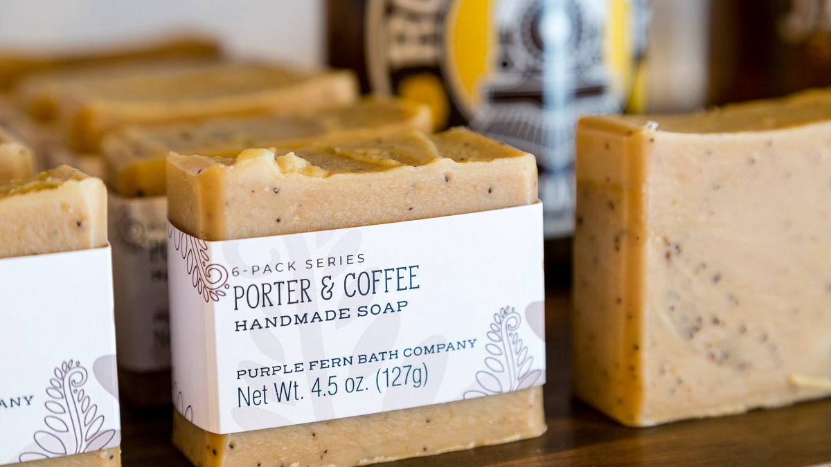 Hand Crafted Porter & Coffee Soap