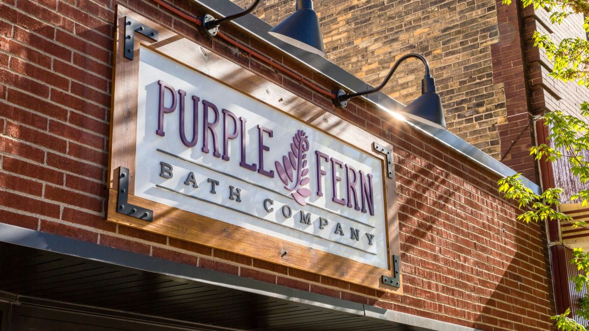 Purple Fern Bath Company Storefront