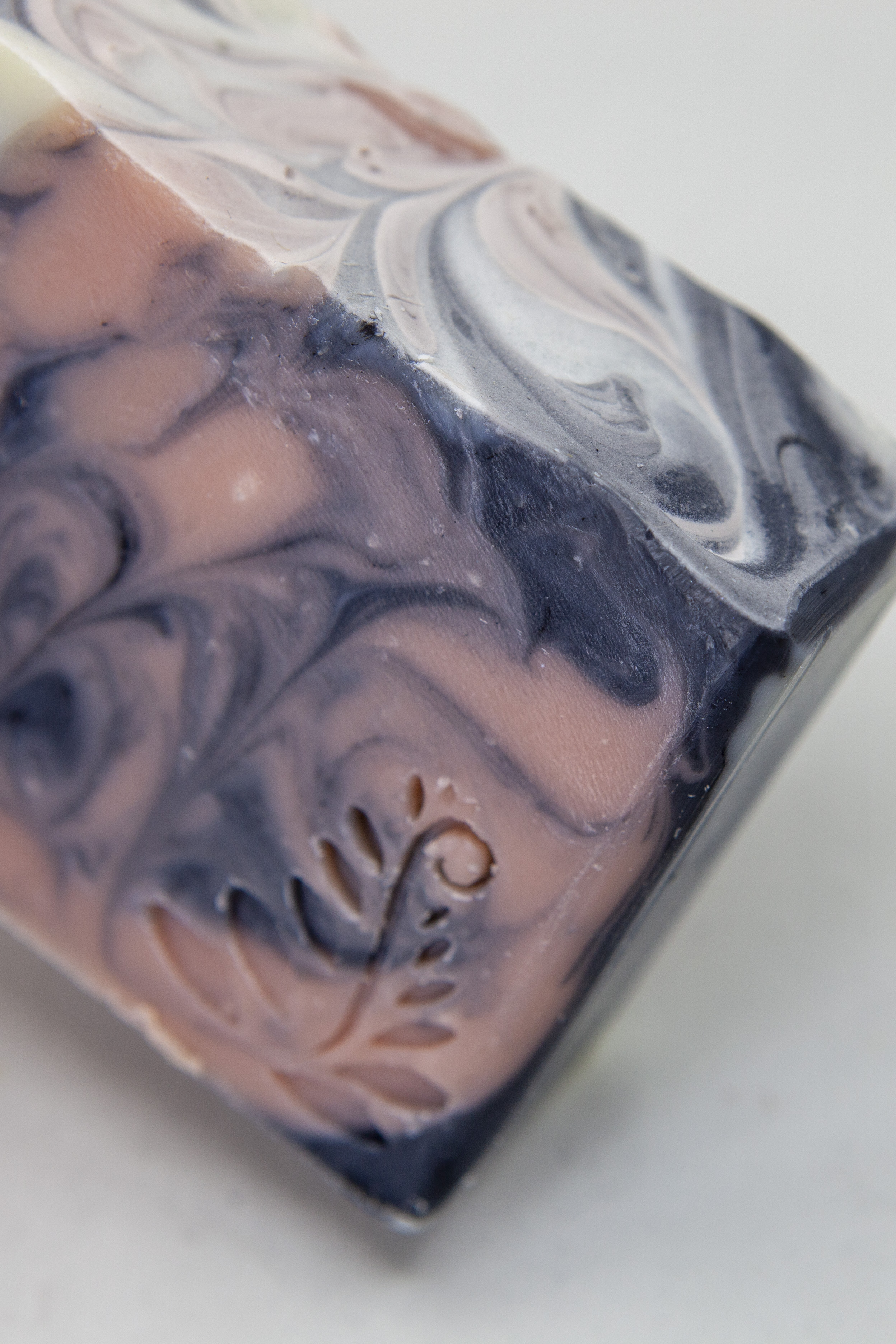 rose clay hand made bar soap essential oil natural