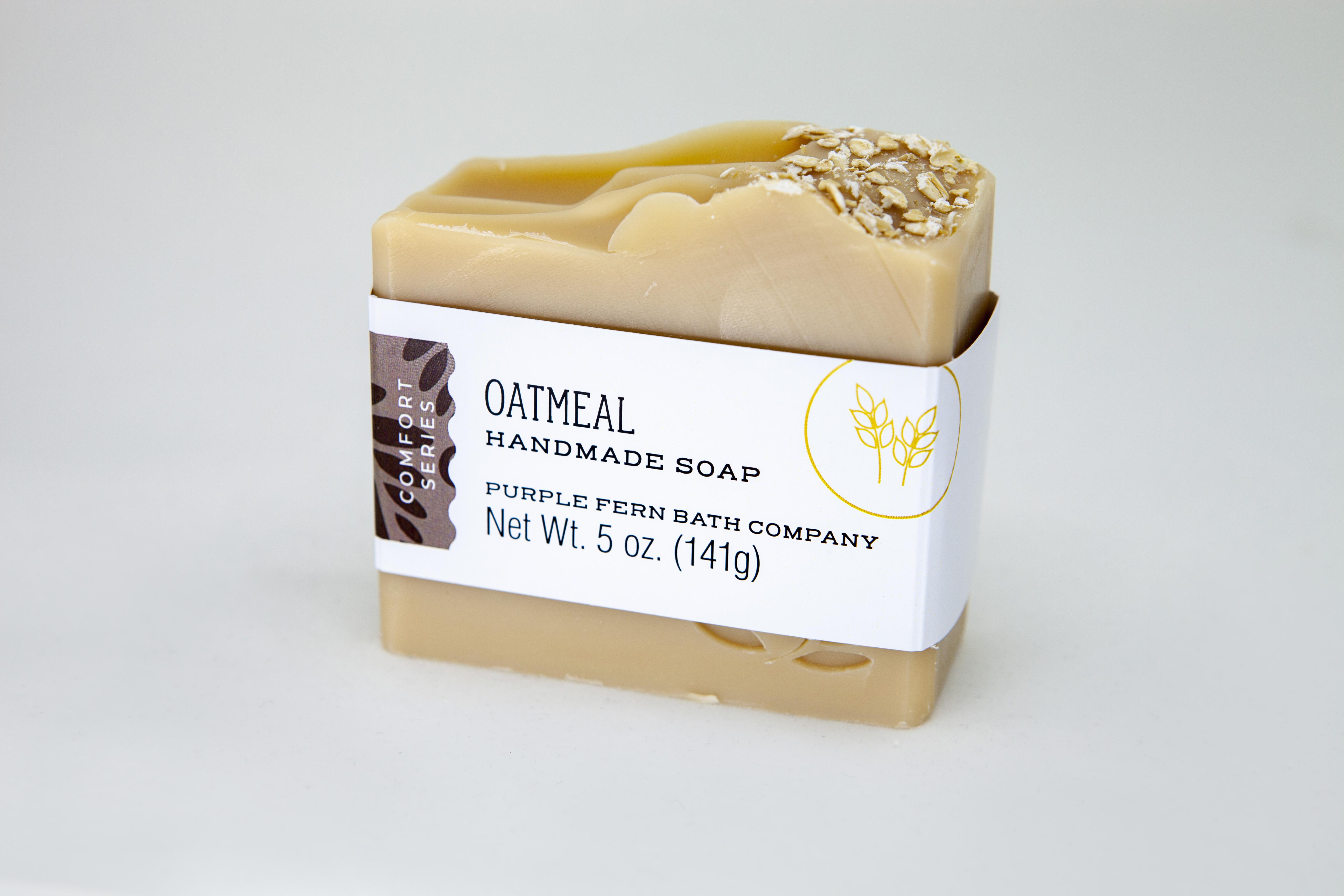 oatmeal bar soap handmade