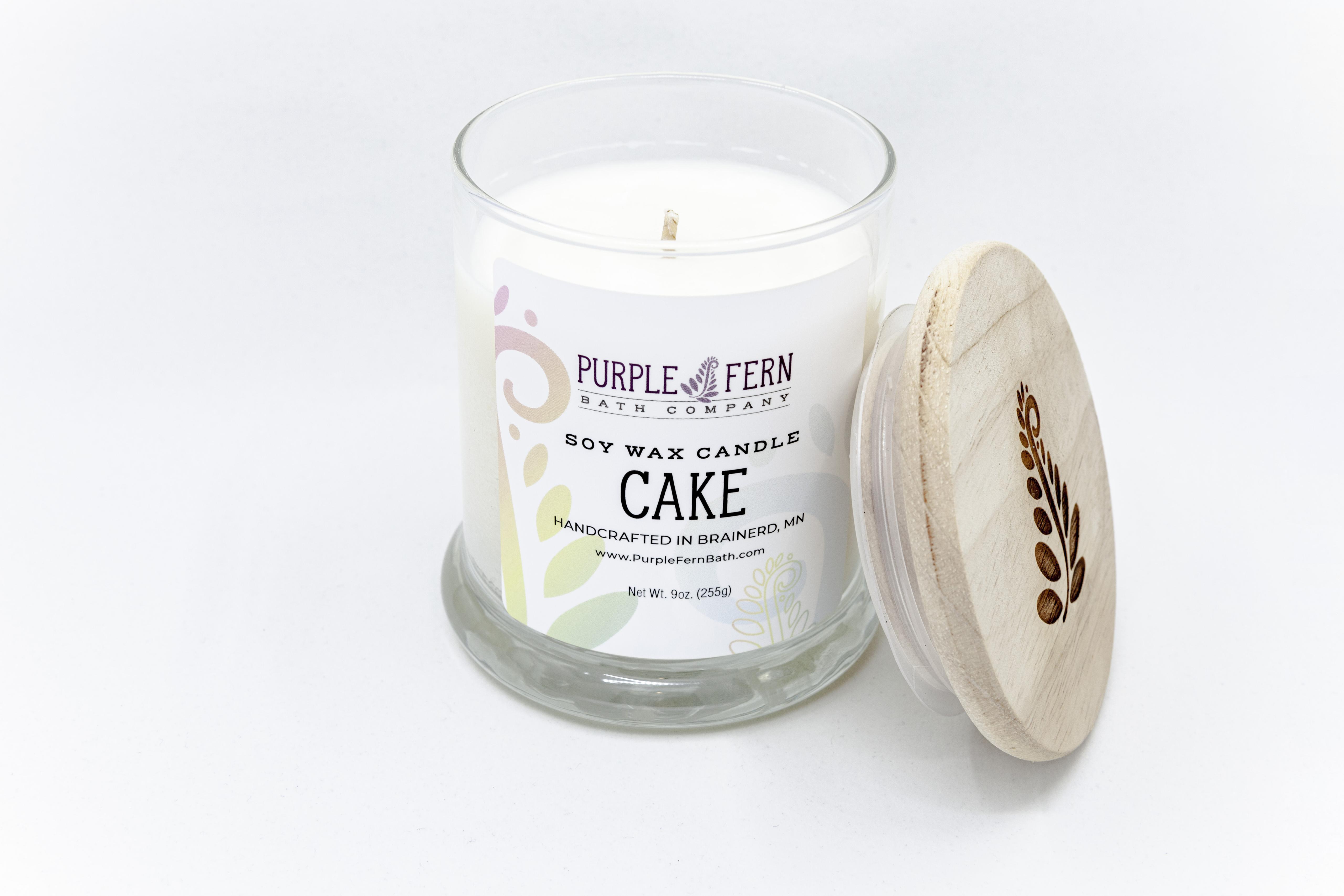 cake soy candle