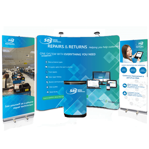 Exhibition Stand Packages : Exhibition printing trade show printed exhibition graphics