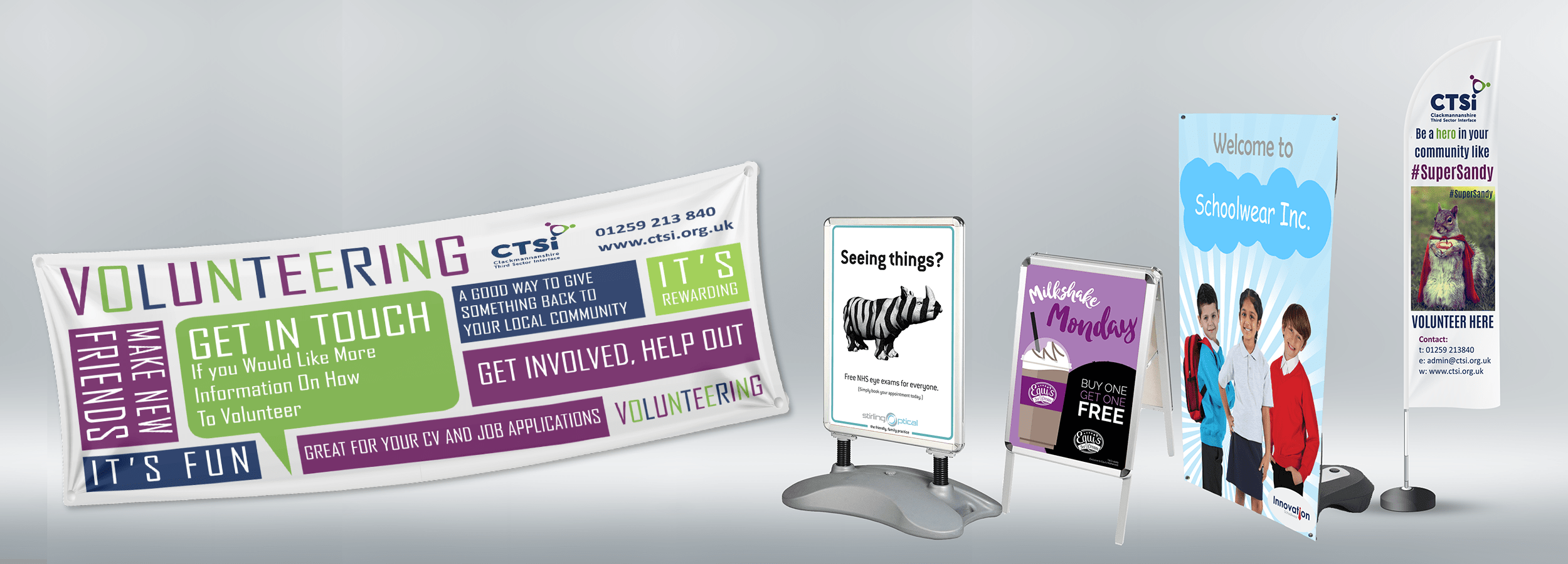 Cheap Banner Printing | Outdoor PVC Banners | Wee Print