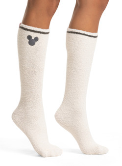 Barefoot Dreams 2-Pack, CozyChic Disney Women's Mickey Mouse Socks