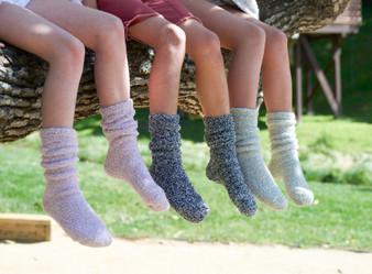 Barefoot Dreams Cozychic Youth Socks
