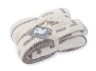 """Barefoot Dreams Cozychic Covered In Prayers Throw, Size 54"""" x 72"""""""