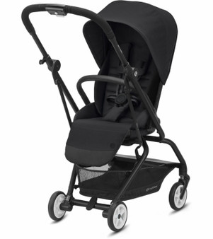 Cybex Eezy S Twist 2 Stroller - Deep Black (With Travel Bag)