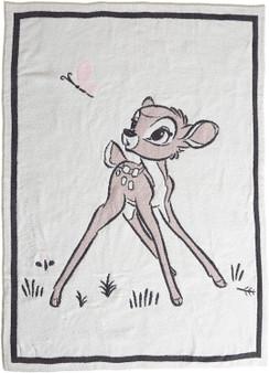 """Barefoot Dreams CozyChic Disney Bambi Blanket Lily-45"""" x 60"""""""