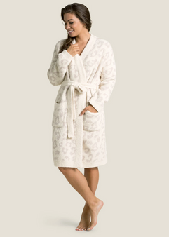 Barefoot Dreams CozyChic Women's Barefoot In The Wild Robe
