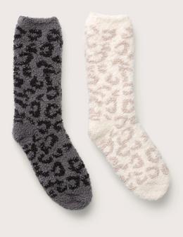 Barefoot Dreams CozyChic Women's Barefoot In The Wild Socks