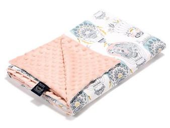 La Millou Lightweight Blanket, Large - Cappadocia Dream, Powder Pink, Size 44 x 55 in.