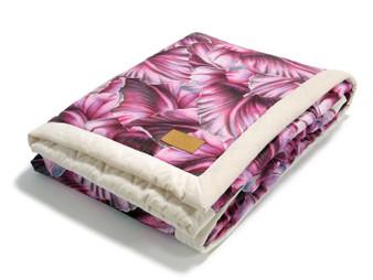 La Millou X-Large Velvet Warm Blanket - Rococo, Rafaello by Marcin Tyszka